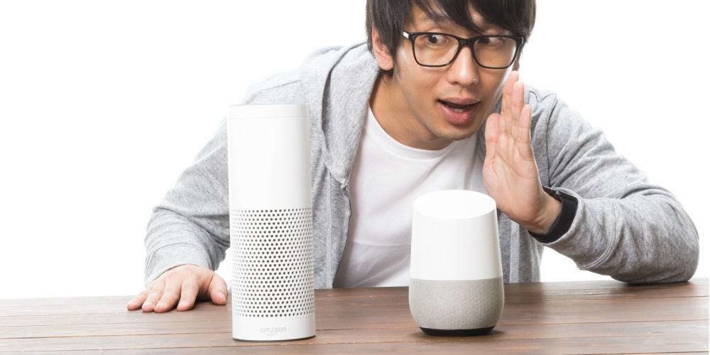 スマートスピーカー連携で音声操作が便利