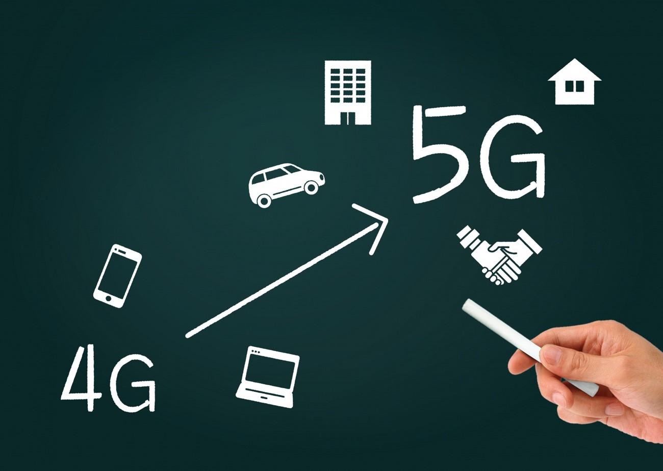 4Gと比較した5Gの特徴