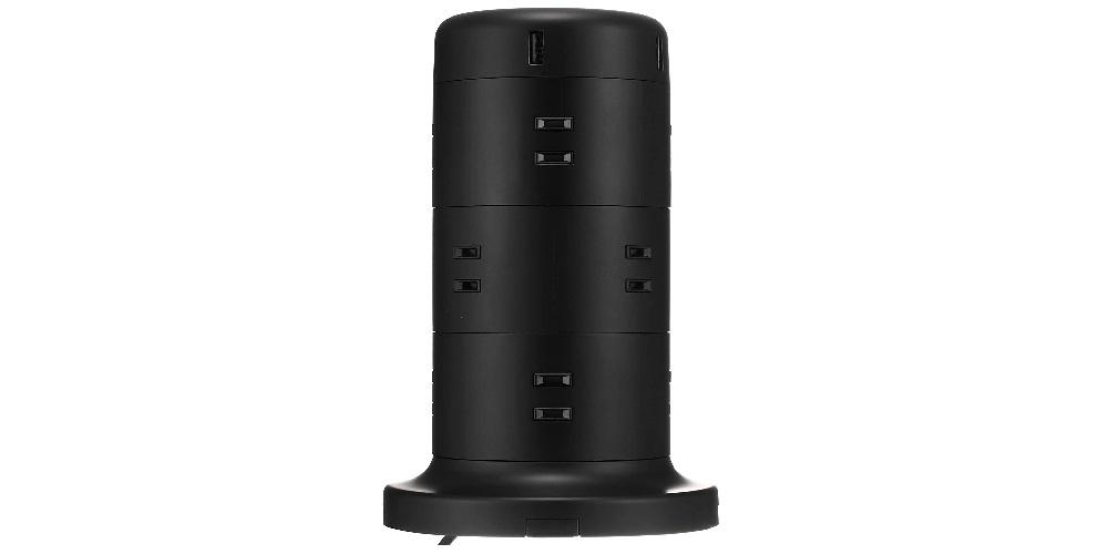 エレコムのタワー型電源タップ「ECT-0720」と他社製品の違い